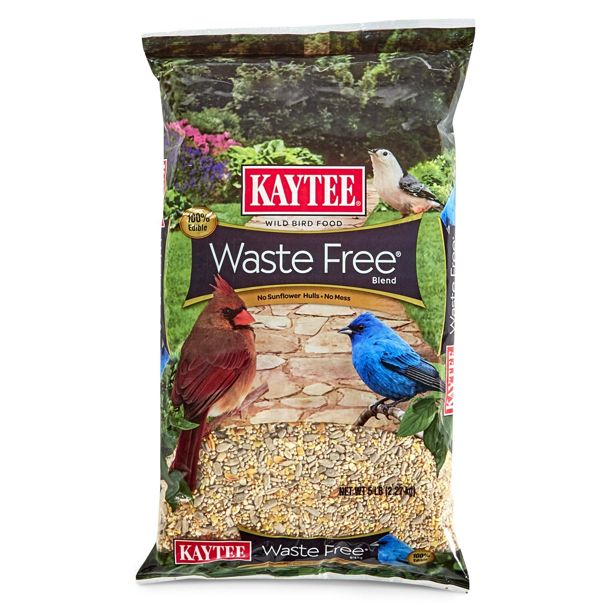 Bird Seed Blend, 5-Pound Waste Free Wild Bird Top Quality