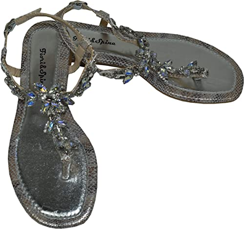 chaussure femme avec bijoux dessus