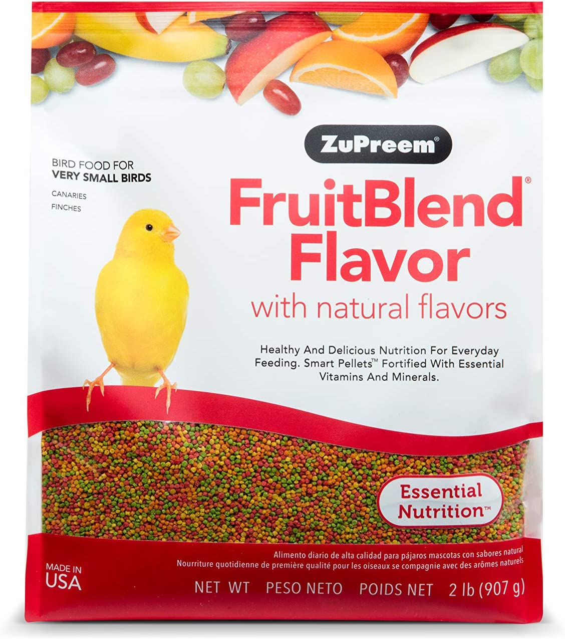 ZuPreem FruitBlend Flavor with Natural Flavors for Very Small Birds