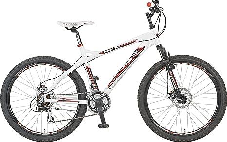 Rex MTB Bergsteiger 2.1 - Bicicleta de montaña, Talla M (165-172 cm), Color Negro: Amazon.es: Deportes y aire libre