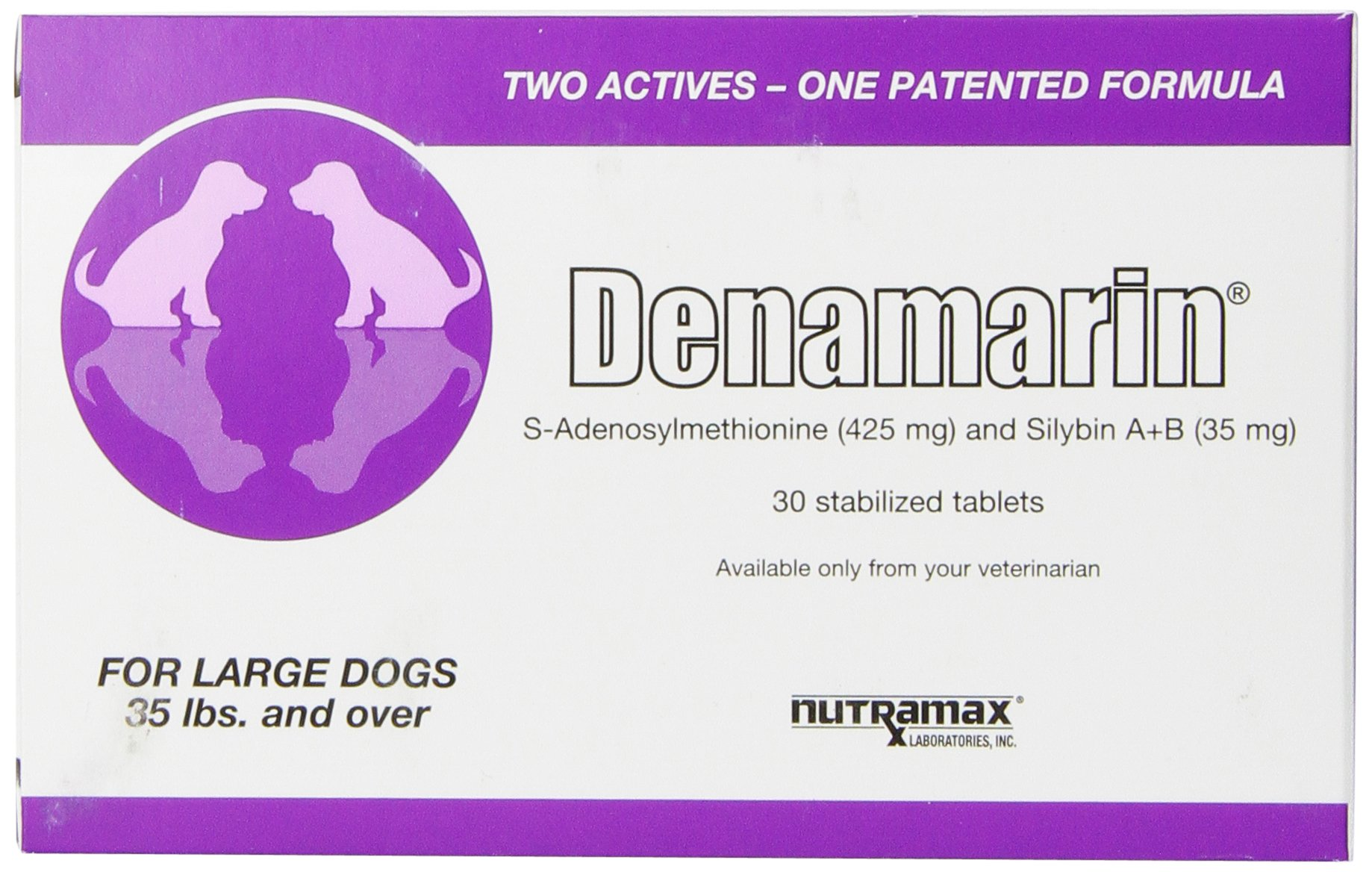 Nutramax Denamarin Tablets for Cats and Dogs 30 Large Dog (Over 35 lb)