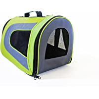 Iconic Pet Furrygo Universal Collapsible Airline Carrier, Lime Green, Medium