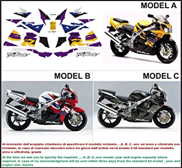 Kit Adesivi Decal Stikers Honda Cbr 900 Rr Fireblade 1997 Ability