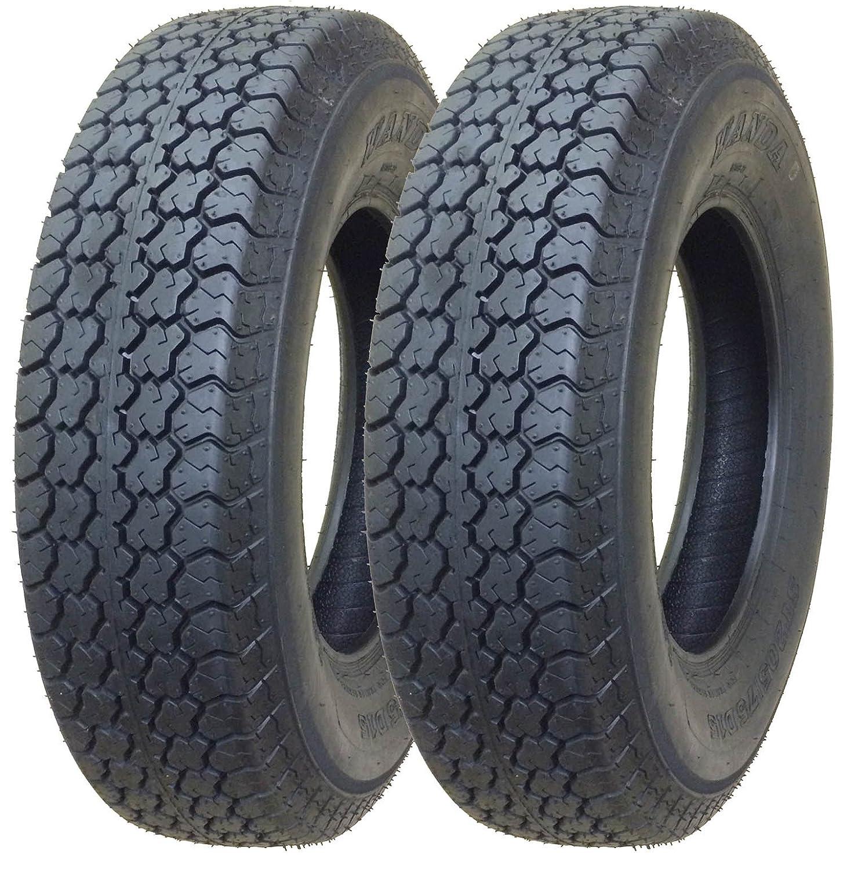 2 New Trailer Tires ST 205/75D15 WANDA