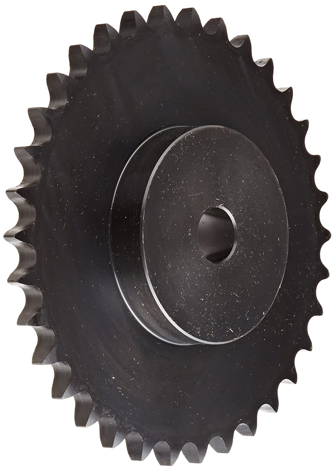 Browning 60B34 Minimum Bore Roller Chain Sprocket, Single Strand, Steel, 3/4' Stocked Bore, 34 Teeth 3/4 Stocked Bore Emerson