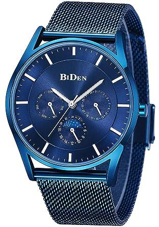 Fashion Men Watches Male Top Brand Luxury Quartz Watch Men Casual Slim Dress Waterproof Sport Silica Gel Mesh Belt Wristwatch Men's Watches