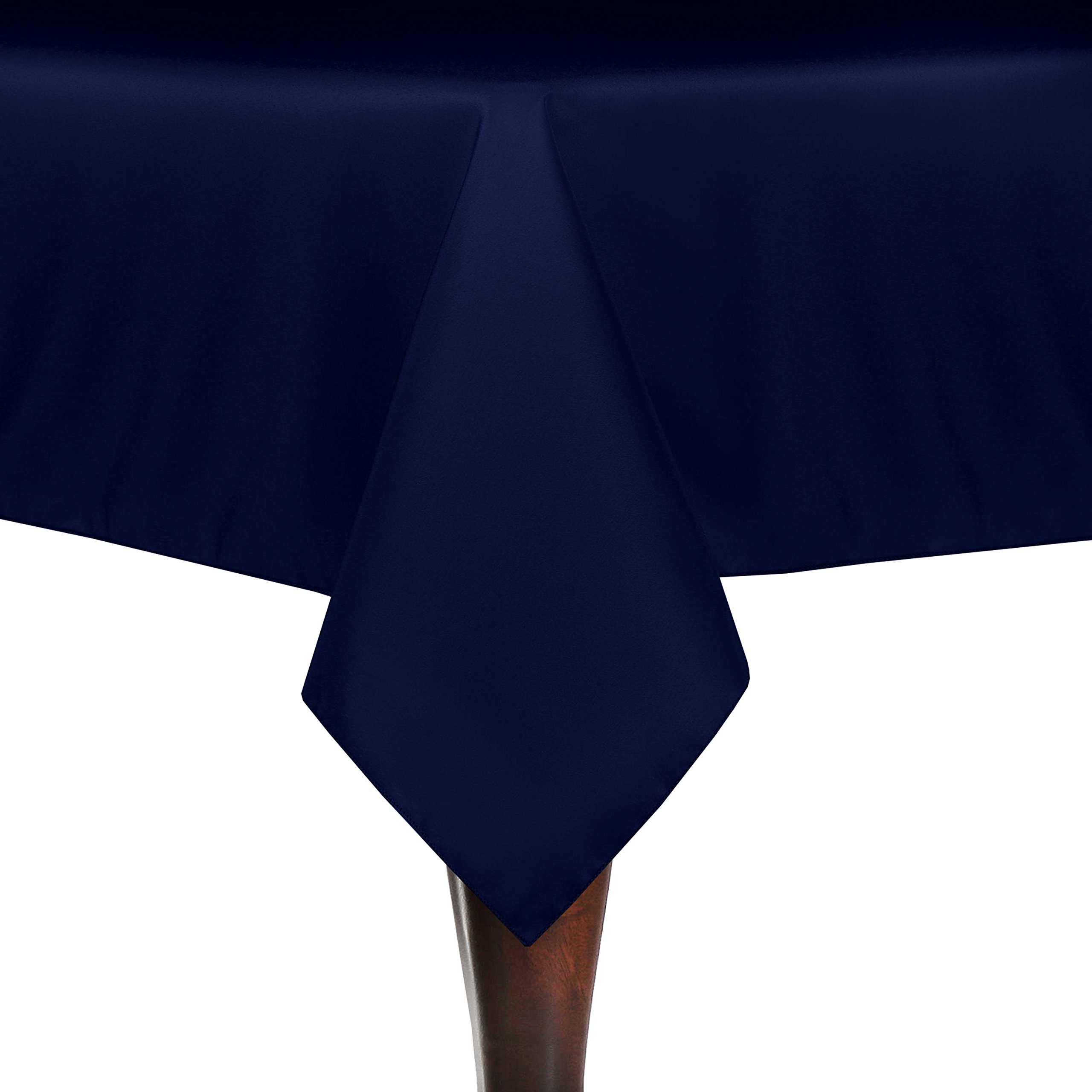 Ultimate Textile (5 Pack) 60 x 102-Inch Rectangle Tablecloth - for Wedding, Restaurant or Banquet use, Royal Blue