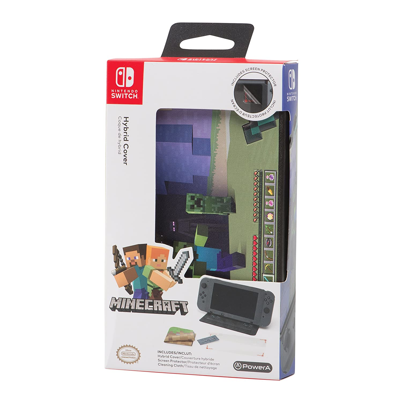 Nintendo Switch Hybrid Cover - Minecraft World: Amazon co uk: PC