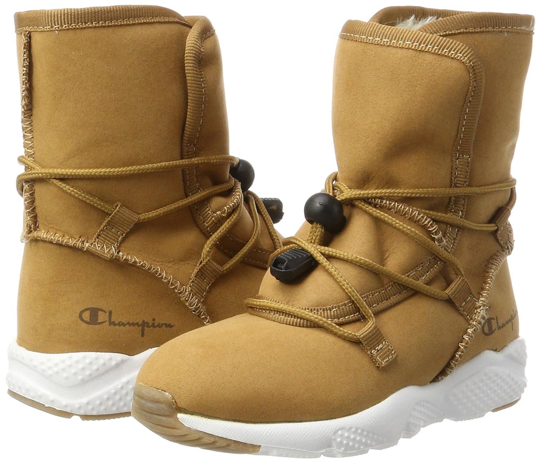 Champion Baby Mädchen High Cut Shoe Arctick G PS Sneaker, Braun (Rec), 28 EU