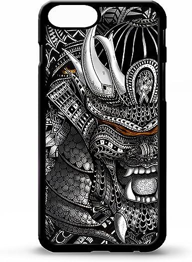 Para iphone 5/5S Samurai cool japonés tatuaje casco de máscara ...