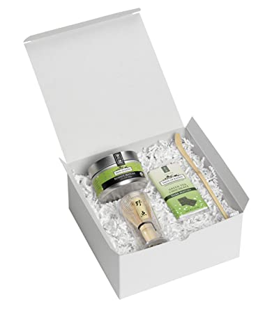 Amazon.com : Organic Matcha Green Tea Gift Set : Gourmet Tea Gifts ...