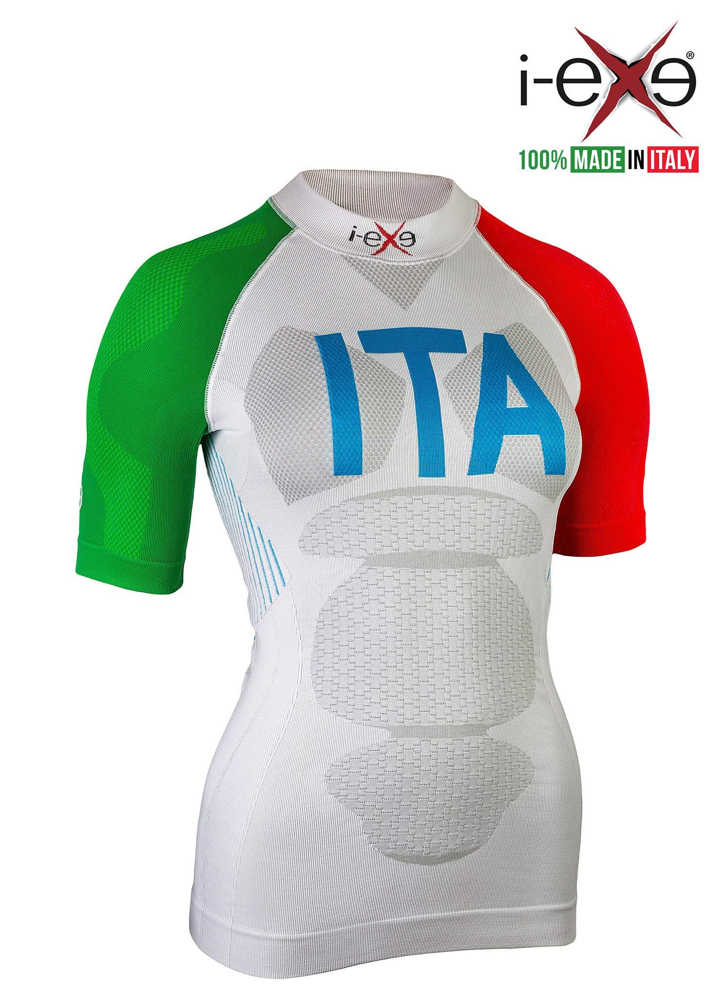 I-EXE Womens Compr Shirt CLR: Italica, S to M