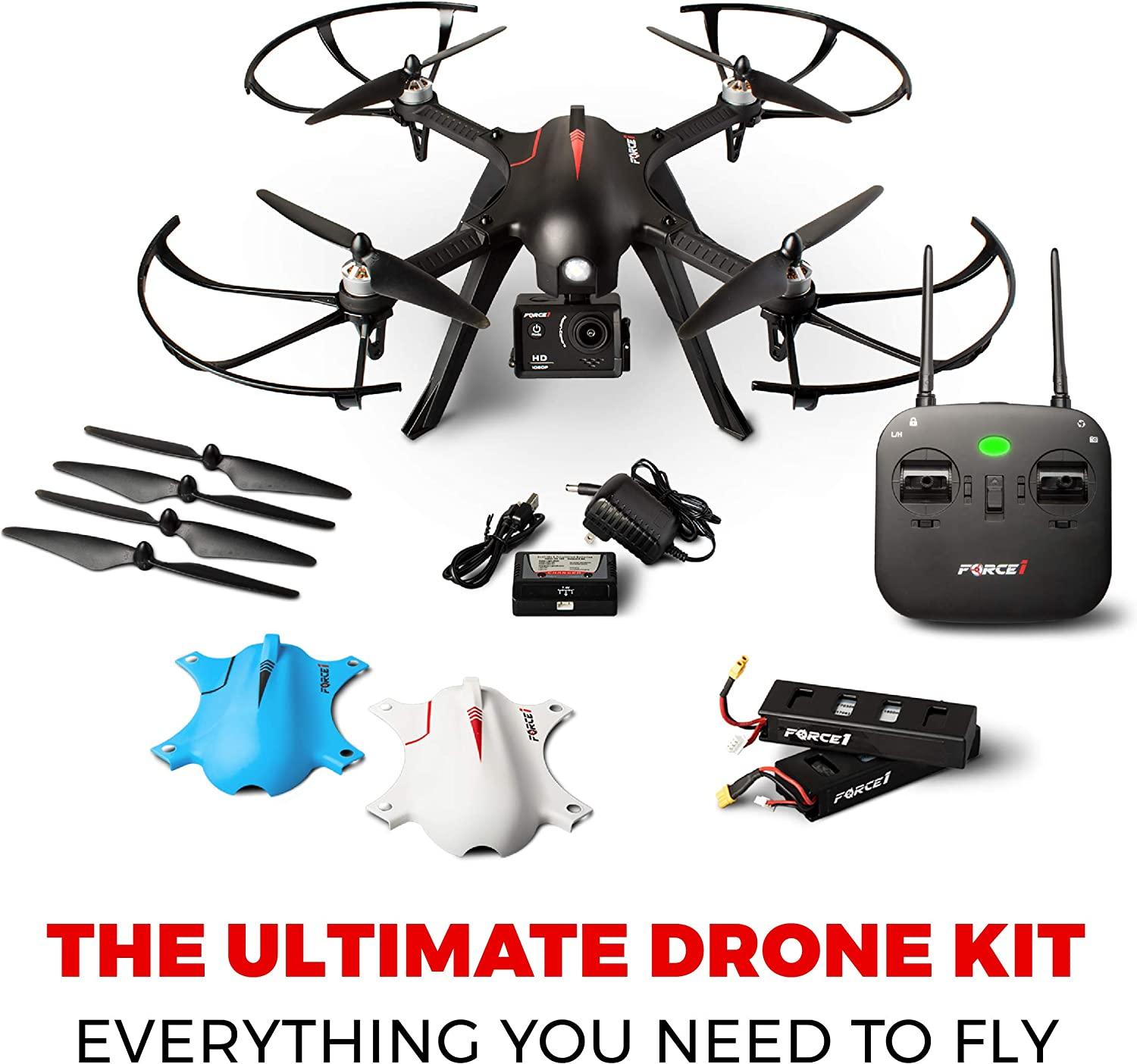 Force1 F100GP is at # 4 for best drones without camera.