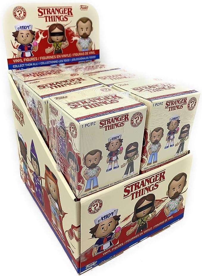 Funko Stranger Things Season 3 Mystery Mini Caja de exhibición (Caja de 12): Amazon.es: Juguetes y juegos