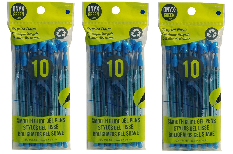 Onyx + verde Hybrid Gel de aceite, punta media, trazo de 0,7 ...