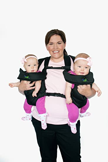 Stuff 4 multiples twintrexx 2 twin baby carrier black