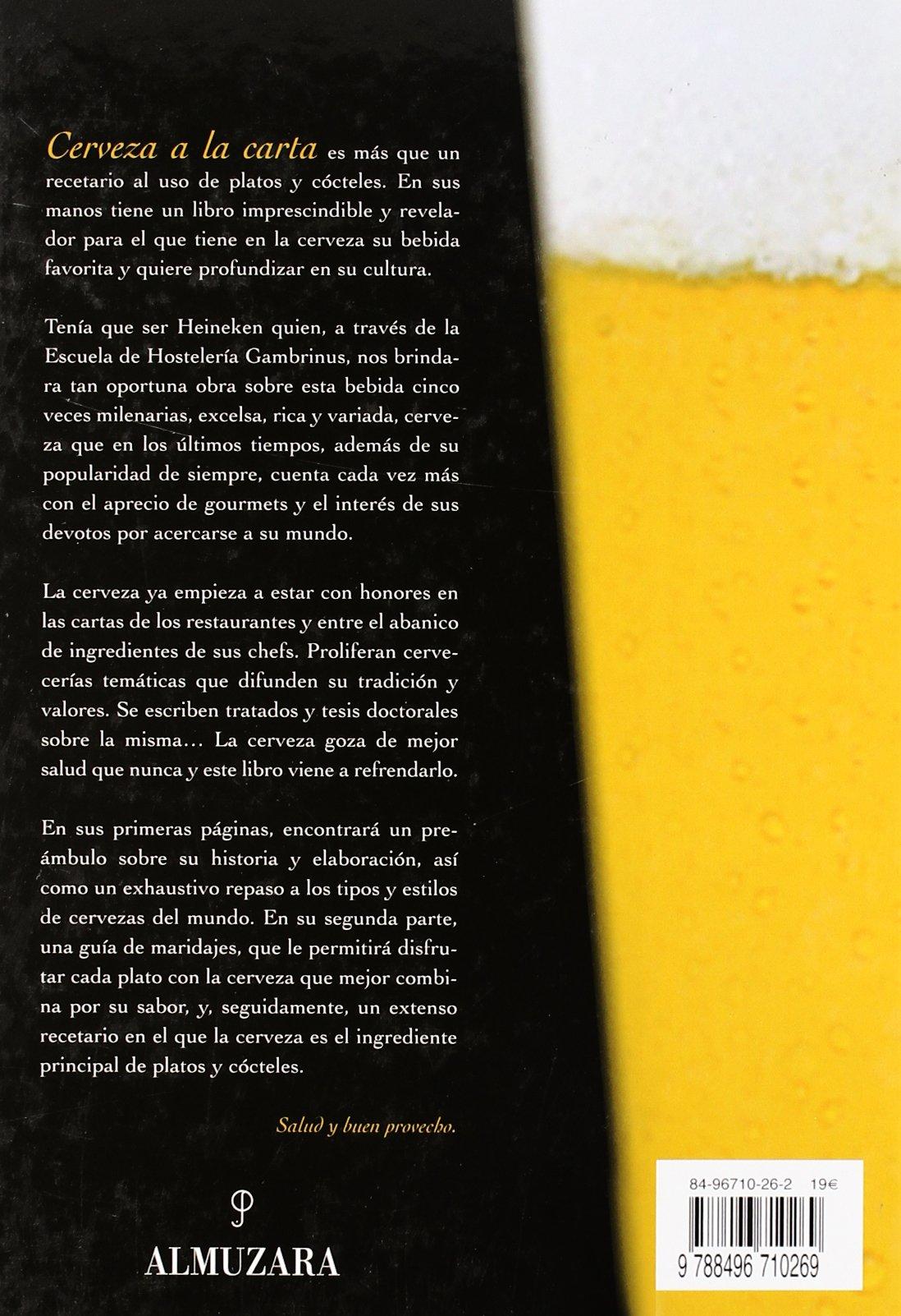 Cerveza a la carta (Spanish Edition): Various Authors ...