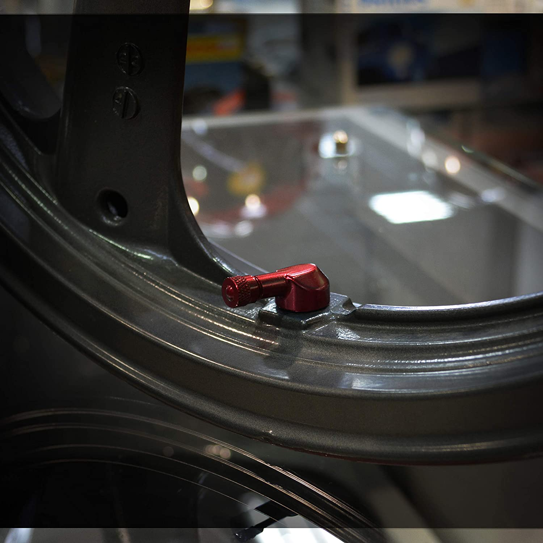"Strada 7 83 Degree 8.3mm 0.357/"" Valve Stems MV Agusta Turismo Veloce 800 Gold"