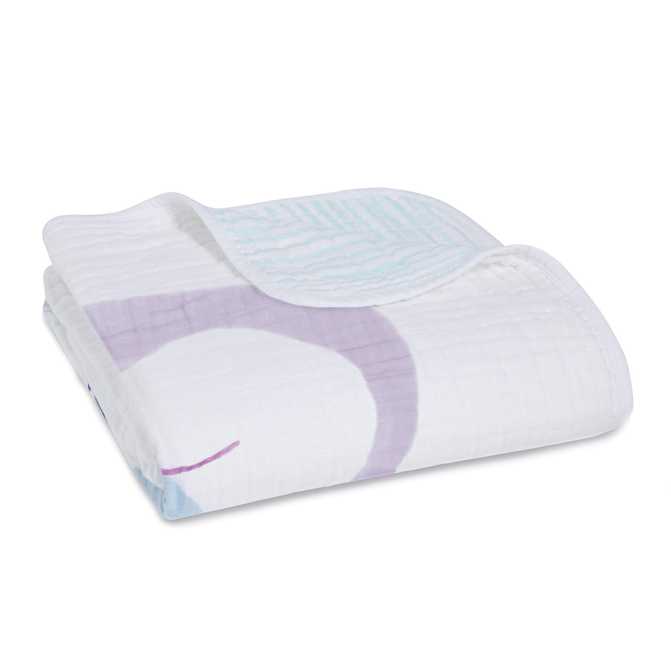 aden + anais dream blanket, thistle-owlish