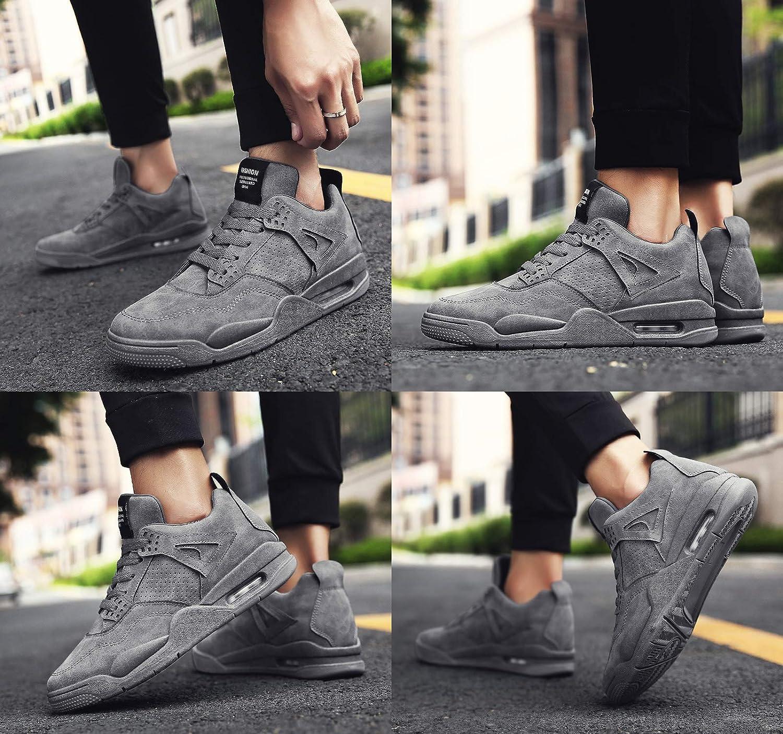 GNEDIAE Zapatos de Entrenamiento para Hombre Malla Respirable Zapatillas Aptitud Ligero Deportes Zapatos para Correr por