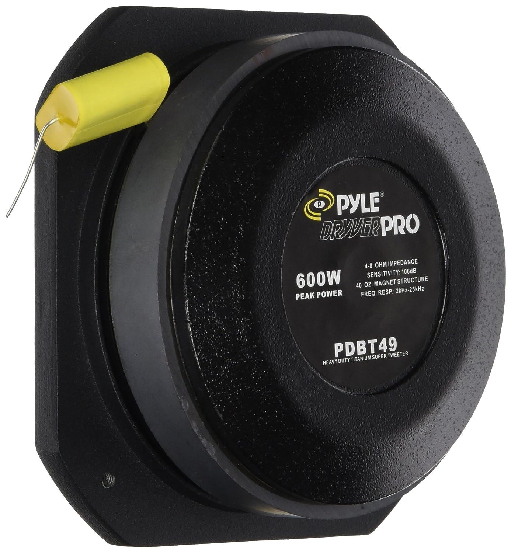 Pyle-Pro PDBT49 2 Heavy Duty Titanium Super Tweeter