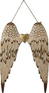 Creative Co-Op Metal Angel Wings Wall Décor
