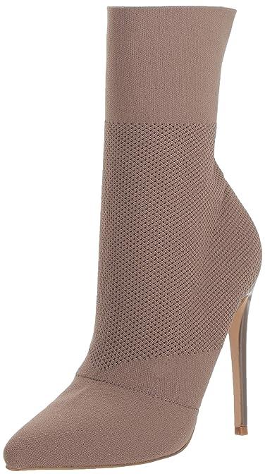 0b733890bde Steve Madden Women s Century Fashion Boot Dark Taupe 10 M US