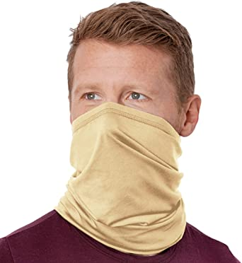 Multi-Use Tube Scarf Bandana Head Mens Face Mask Neck Gaiter Head Wear Summer