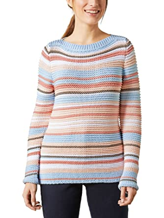 Walbusch Damen Alpaka Pullover Mariella gestreift: Walbusch