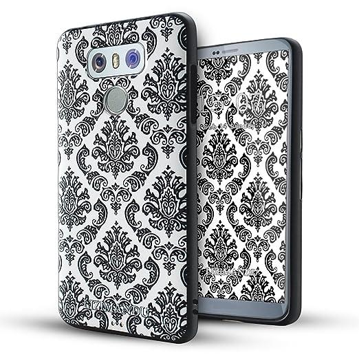7 opinioni per LG G6 Cover,Lizimandu Creative 3D Schema UltraSlim TPU Copertura Della Cassa Del