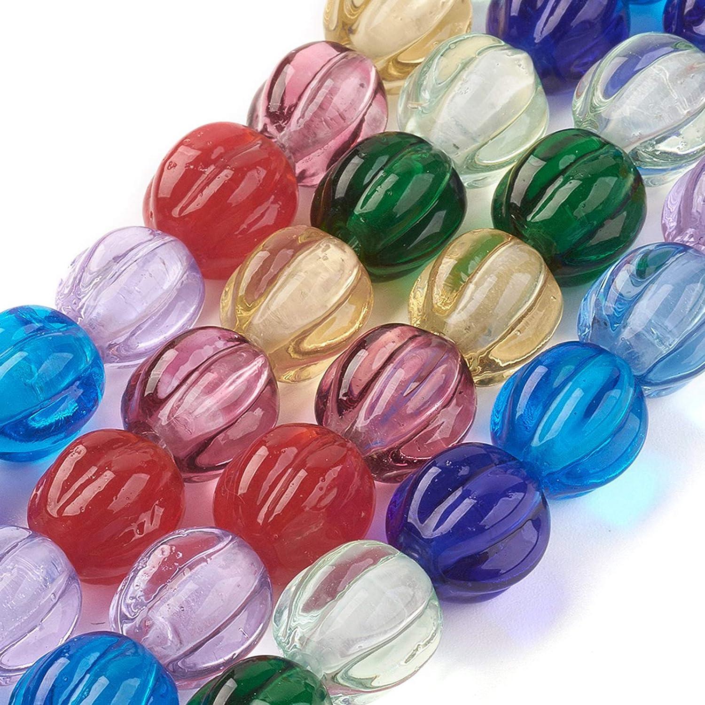 Big Hole Lampwork Set 2beads Mr Colorful Lampwork Beads Parrot/'s Color Lampwork Bead Set