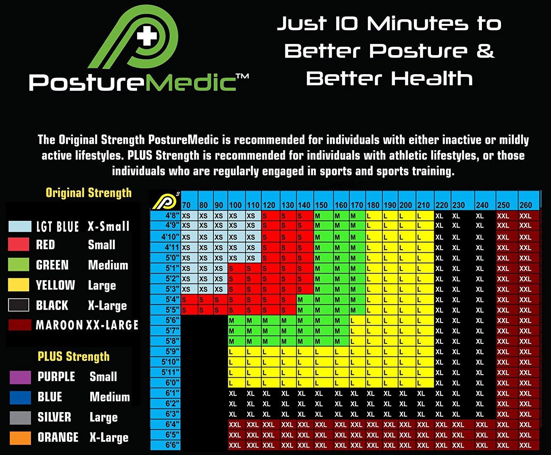 PostureMedic Original Posture Corrector Brace XSmall Small Medium Large XLarge PLUS by Posture Medic International (Image #2)