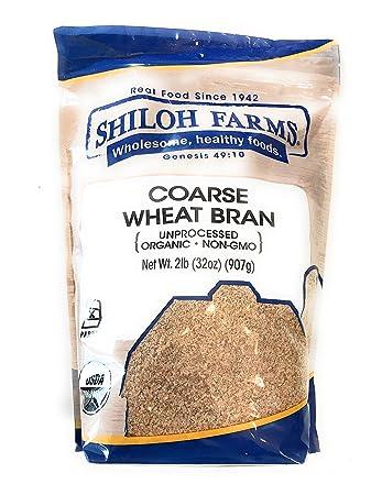 Shiloh Farms - Organic Unprocessed Coarse Wheat Bran - 32 Ounce
