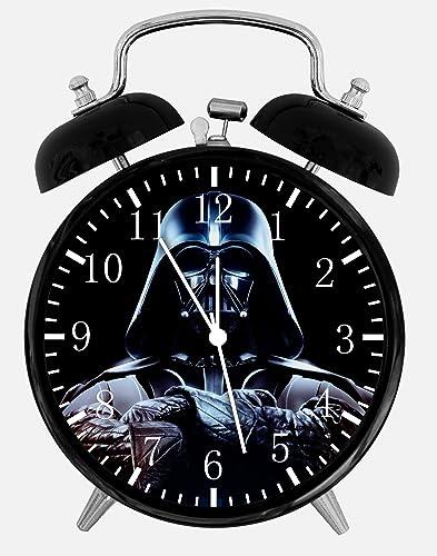 Starwars Star Wars Twin Bells Alarm Desk Clock 4 Home Office Decor E54 Nice for Gifts