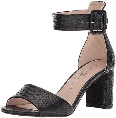 ca6f31056ee1 Chinese Laundry Women s Rumor Heeled Sandal Black Snake 5 ...