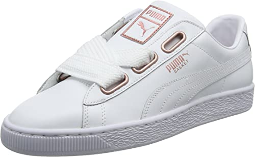 baskets heart puma