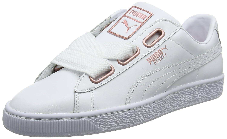Puma Basket Heart Leather, Zapatillas para Mujer