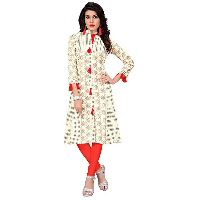 ec539a3d4 FASHION CARE Present Cotton Kurti for Women s (Speciality Printed ...