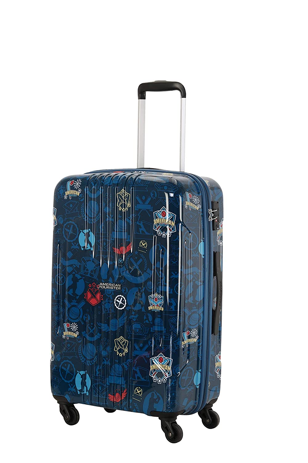 American Tourister Trafford Polycarbonate 56 Cms Navy