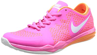 new style ac26b 8d5be Nike W Dual Fusion Tr 3 Print Damen Laufschuhe: Amazon.de: Schuhe ...