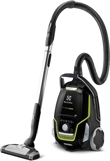 Electrolux ZUOGREEN Aspirador con bolsa ecológico y cepillo AeroPro Parketto Pro, color negro ébano y verde, 800 W, 5 litros, 66 Decibelios: Amazon.es: Hogar