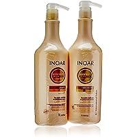 Inoar Kit Shampoo e Condicionador DayMoist Ultra Hidratante com CLR™ 1L, Inoar, pacote de 2