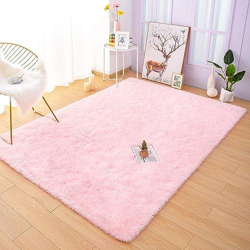 YOH Fuzzy Soft Modern Shaggy Area Rug