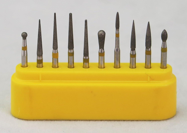 50Pcs Perfect FG Carborundum Burr for Cutting Carving