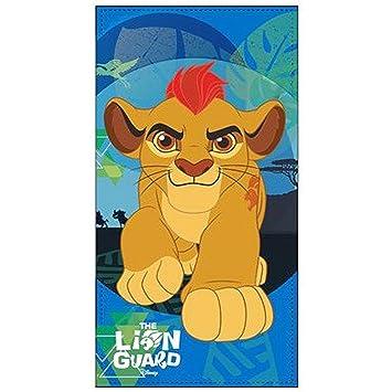 Disney La Garde el León playa toalla 70 x 140 cm: Amazon.es: Juguetes y juegos