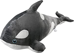 Koltose by Mash Orca Killer Whale Stuffed Animal, Giant 40 inch Large Killer Whale Toy, Orca Plush Toy for Kids, Whale Décor, Whale Pillow Toy Plushie