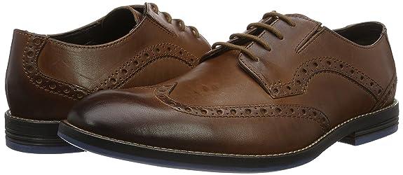 Limit es Zapatos Amazon Y Prangley Hombre Clarks Derby wqvxA5