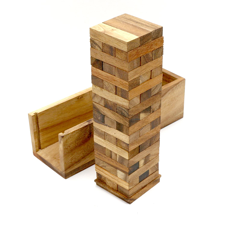 高級素材使用ブランド Monkey B001CC15AY Pod Games Box Large Tumbling Games Tower Game with a Wooden Box (13 Inch) B001CC15AY, 渡部商店 どっと米:c99f97f5 --- quiltersinfo.yarnslave.com