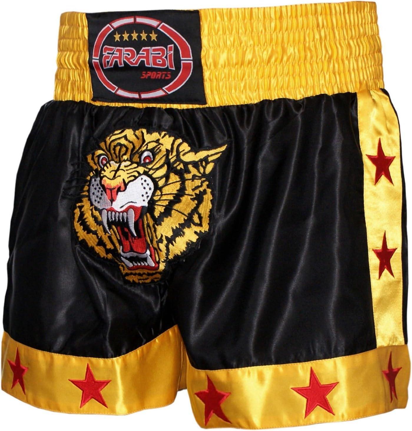 MMA Fight Shorts Tiger Muay Thai Kick Boxing Sports Training Trunks