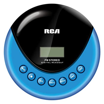 amazon com rca rp3013 personal cd player with fm radio discontinued rh amazon com RCA 5-Disc CD Player RCA CD Player Radio Stereo